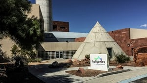 Photograph of the Heligenics Building HQ